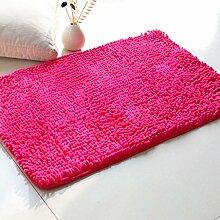 Lying Coral Fleece Teppich Wohnzimmer Schlafzimmer Schwimmdock Fenster Sofa Teppich Absorbent Mendian Mat finden ( Farbe : E , größe : 80*160cm )
