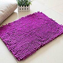 Lying Coral Fleece Teppich Wohnzimmer Schlafzimmer Schwimmdock Fenster Sofa Teppich Absorbent Mendian Mat finden ( Farbe : D , größe : 50*160CM )