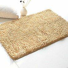 Lying Coral Fleece Teppich Wohnzimmer Schlafzimmer Schwimmdock Fenster Sofa Teppich Absorbent Mendian Mat finden ( Farbe : F , größe : 50*160CM )