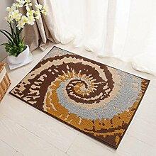 Lying Rutschhemmende Tür electro Teppich Matratze Tür Eingangshalle Mat Mat finden ( Farbe : A , größe : 45*70CM )