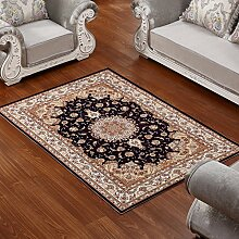 Lying Teppich Wohnzimmer Couchtisch Schlafzimmer Bettvorleger Blending American Garden Home Klassisch-Shop finden ( Farbe : A , größe : 120*160CM )
