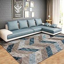 Lying Wohnzimmer Teppich Couchtisch rechteckig Teppich am Bett Bett finden ( Farbe : E , größe : 78*150CM )