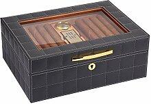 LYKH Zigarren-Humidor, Zedernholz Humidor