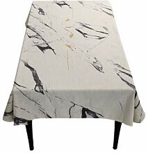 LYLLB-tablecloth Marmorierte Tischdecke nordischen