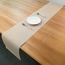 LYLLXL Tischläufer,Chinesische Art Beige