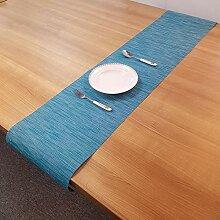 LYLLXL Tischläufer,Chinesische Art Blau