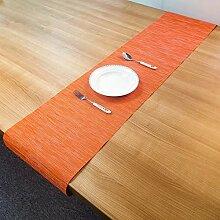 LYLLXL Tischläufer,Chinesische Art Orange