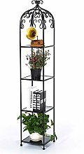 LYLSXY Pflanzenständer, 4 Stufe Flower Racks
