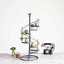 LYLSXY Pflanzenständer, 8 Stufe Leiter