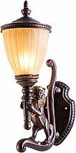 LYLSXY Wandleuchte, Wunderschön Verzierte Lampen