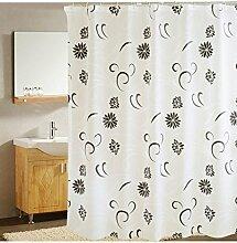LYM &Badezimmerzubehör Duschvorhang Wasserdicht