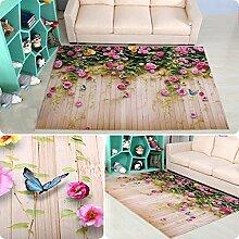 LYM #Wohnzimmer Teppich 3D Teppich Cartoon