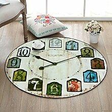 LYM #Wohnzimmer Teppich Runder Teppich, Design