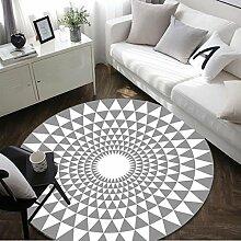 LYM #Wohnzimmer Teppich Stilvolle runde Teppich