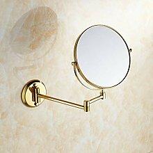 LyMei Vanity Mirror, 8-Zoll-Wand-Teleskop-Falten