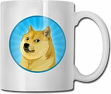 Lymknumb Porzellan Kaffeebecher Doge Head Animal
