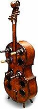 LYN-UP Weinregal, Kreative Weinschrank Violine
