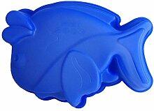 LYNCH 2 Stück Fisch geformt Muffin Süßigkeit Werkzeuge Fondant Soap-Silikon-Form