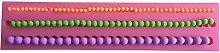 LYNCH 3 Größen Perlenketten Formen DIY Fondant-Silikon-Kuchen-Form-Küche-Werkzeuge,Rosa
