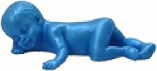 LYNCH 3D Silikon Schlafen Baby Mold Non-Stick-Harz-Kuchen-Fondant-Werkzeuge,Rosa