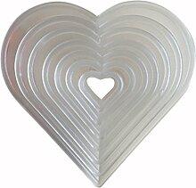 LYNCH 7 Stück Kuchen,Ausstechformen Set-Liebes-Herz-Form Sugar Gebäck Werkzeuge
