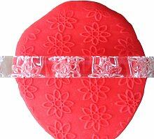 LYNCH Blume Geprägte Nudelhölzer Kuchen,der