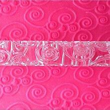 LYNCH Blumen-Rebe Strukturierter Geprägte Acryl