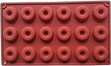 LYNCH Donut geformte Süßigkeit Jelly Fondant Werkzeuge Schokolade Silikon-Form