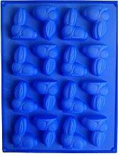 LYNCH Kaninchen-Form-3D Silikon Fondantform Muffin-Gebäck Backen-Werkzeuge