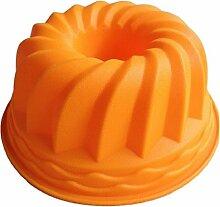 LYNCH Kürbis Shaped Muffin-Süßigkeit-Silikon-Form DIY Kuchen,der Werkzeuge