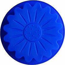 LYNCH Lotus Typ DIY Muffin Eis Werkzeuge Silikon-Form-Backen-Kuchenform