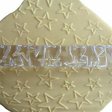LYNCH Mehr Star Shaped Rolling Pin Embossing