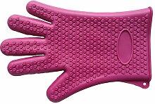 LYNCH Ofenhandschuhe und Potholders Mikrowelle Silikon-Handschuh -Kuchen-Werkzeuge