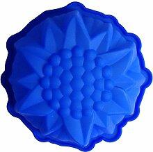 LYNCH Sonnenblume formte 3D-Silikon-Form-Praline-Werkzeuge Harz-Wachs-Form