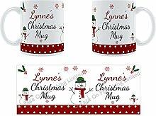Lynne'Weihnachten Becher, Tasse, Keramik,