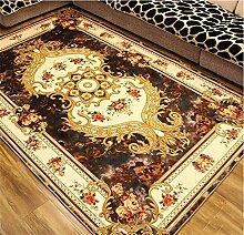 LYP-Teppiche modernen europäischen Stil Wohnzimmer European Style Teppich Wohnzimmer Schlafzimmer Couchtisch Decke Bedside Home Machine Washable Decke Gewaschener Couchtisch Nachttischteppich ( Farbe : #3 , größe : 140*200cm )