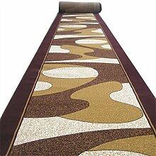 LYP-Teppiche modernen europäischen Stil Wohnzimmer Striped Professional Korridor Decke Walkway Eingangshalle Tür Eingang Teppich Tisch Teppich (Brauchen Sie ein paar Meter, um ein paar Artikel zu kaufen) Gewaschener Couchtisch Nachttischteppich ( größe : 1.2*1m )