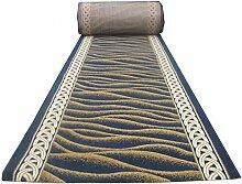 LYP-Teppiche modernen europäischen Stil Wohnzimmer Striped Professional Korridor Decke Walkway Eingangshalle Tür Eingang Teppich Tisch Teppich (Brauchen Sie ein paar Meter, um ein paar Artikel zu kaufen) Gewaschener Couchtisch Nachttischteppich ( größe : 1*1m )