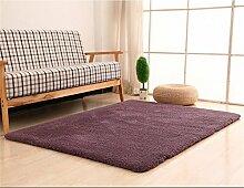 LYP-Teppiche modernen europäischen Stil Wohnzimmer Teppich Wohnzimmer Couchtisch Matten Schlafzimmer Bett Seite Modern Einfache Teppiche Gewaschener Couchtisch Nachttischteppich ( Farbe : #3 , größe : 100*160cm )