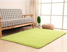 LYP-Teppiche modernen europäischen Stil Wohnzimmer Teppich Wohnzimmer Couchtisch Matten Schlafzimmer Bett Seite Modern Einfache Teppiche Gewaschener Couchtisch Nachttischteppich ( Farbe : #1 , größe : 120*160cm )