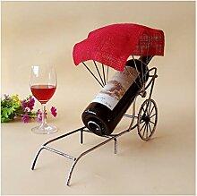LYPGA Weinregal Vintage Rickshaw Weinregal