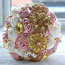 LYQ Queen Hochzeit Blumen Braut Brautstrauß
