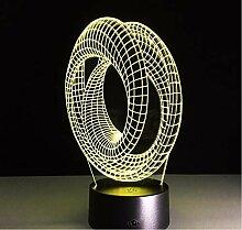 Lyqyzw Magische Optische Illusion 3D Stimmung