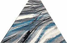 LYQZ Langer Teppich-Polyester-Flur-Teppich-Teppich