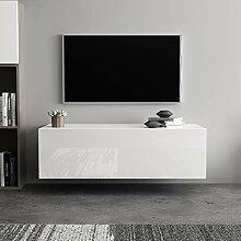 lyrlody Fernsehschrank, 100 cm Wandmontage TV