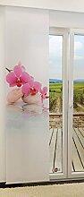 LYSEL Flächengardine Pink Orchid