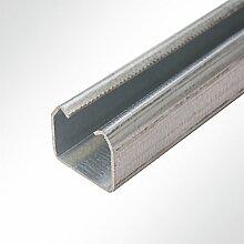 LYSEL Laufschiene verzinkt 35x30mm bis 100 Kg