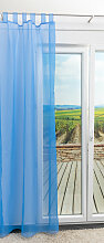 Lysel Outlet - Schlaufenschal Solide Himmelblau