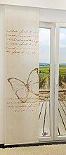 LYSEL Schiebevorhang Butterfly lichtdurchlässig