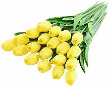 Lystaii 20 stücke Künstliche Blumen Gefälschte
